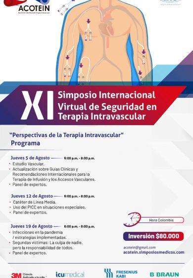 XI Simposio Internacional Virtual de Seguridad  en Terapia Intravascular